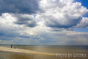 Мягкость весеннего белого моря