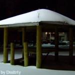 Беседка во дворах - Зима 2007