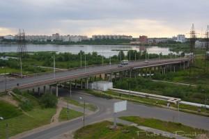 Мост и театральное озеро