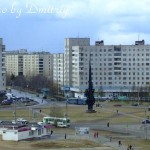 "Памятник ""Мир и труд"" на пр. Морском"