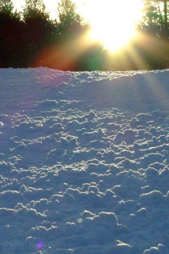 Снежный спуск