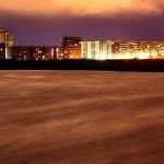 Квартал - ночной Северодвинск