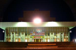Драмтеатр - ночной Северодвинск