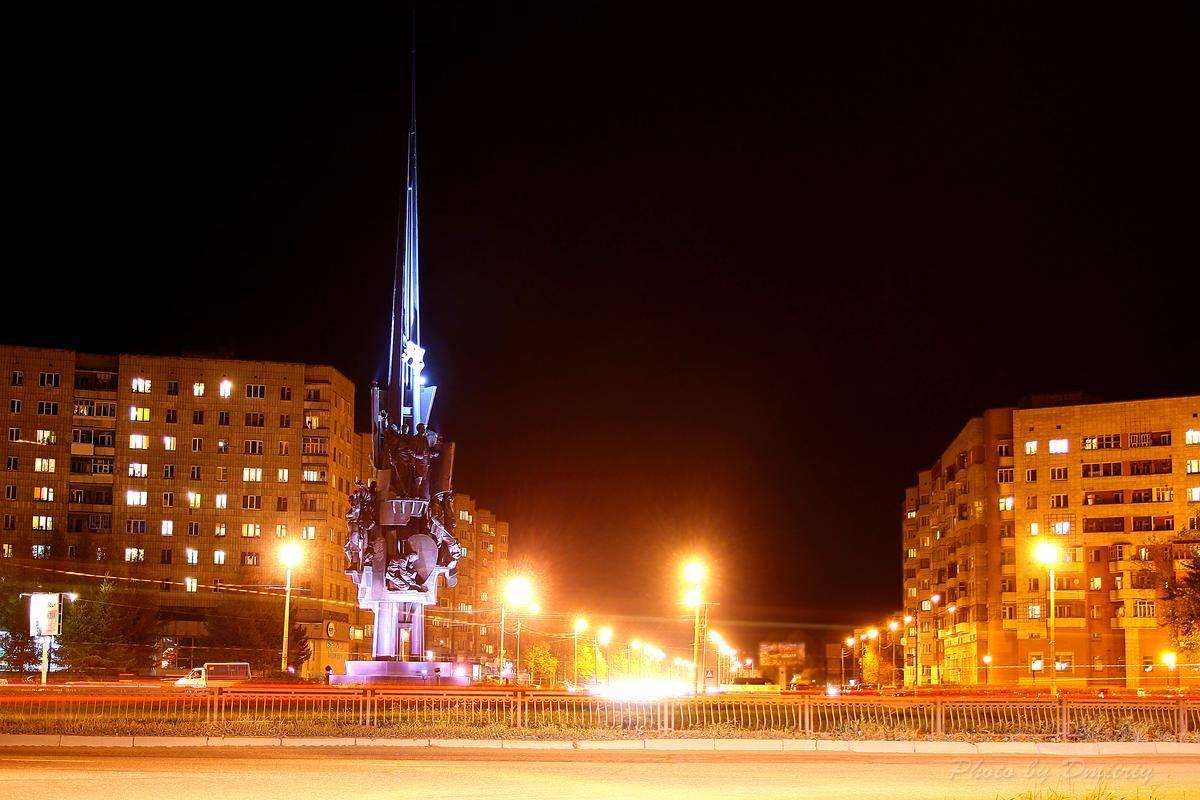 Северодвинск - ночной Северодвинск