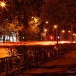 ул. Труда - ночной Северодвинск