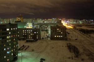 Проспект Победы - Зима 2012
