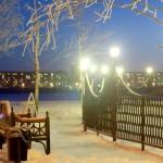 Парк у театрального озера