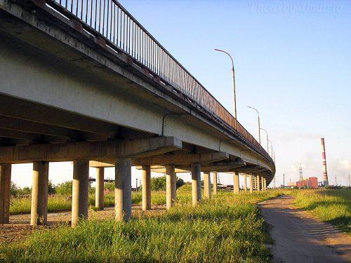 Путепровод, окружное шоссе
