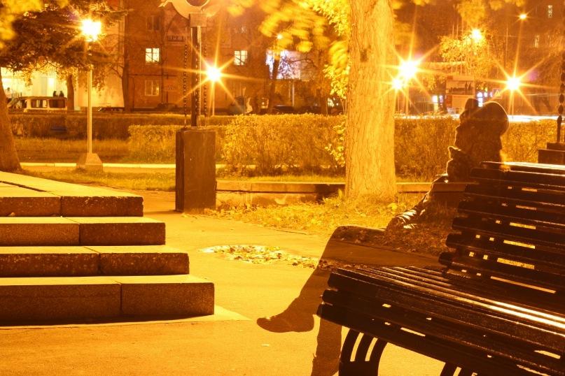 Призрак на скамейке (Призраки осени)