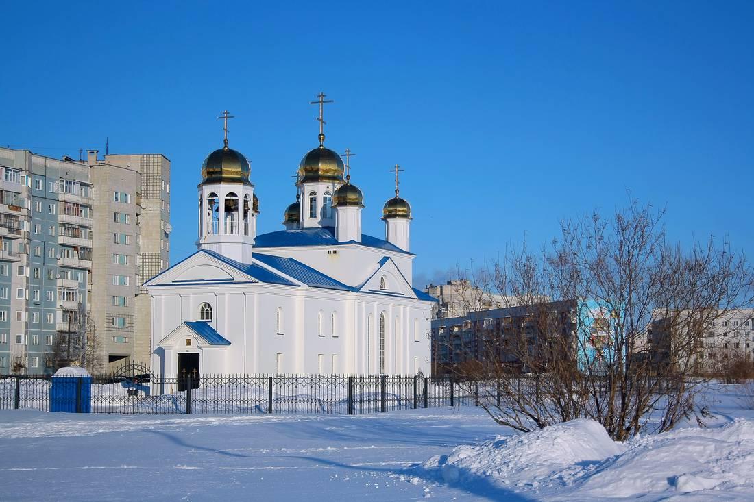Церковь Вениамина и Никифора Соловецких - зима 2015