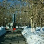 памятник воинов 13 отдельной лыжной бригады 2-ой ударной армии волховского фронта