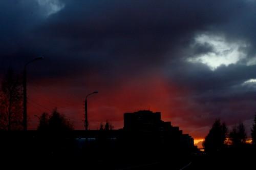 Небесный пожар