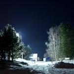 ночной пейзаж - зима 2017