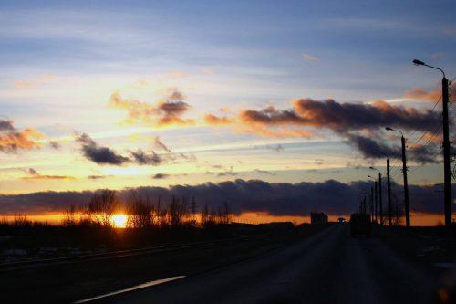 Закат над Яграми