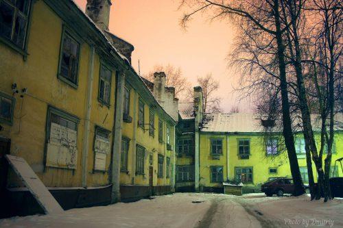 Старый город. ул. Комсомольская