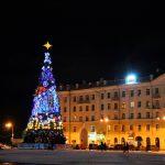 Новогодняя ёлка на площади Победы