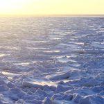 Обломки льда