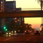 Путепровод из города в кварталы (ул. Юбилейная)